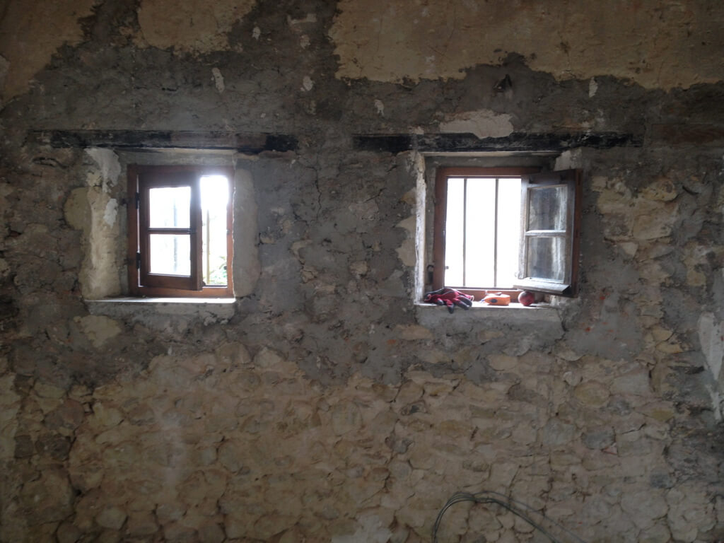 Mur avant suite vercors
